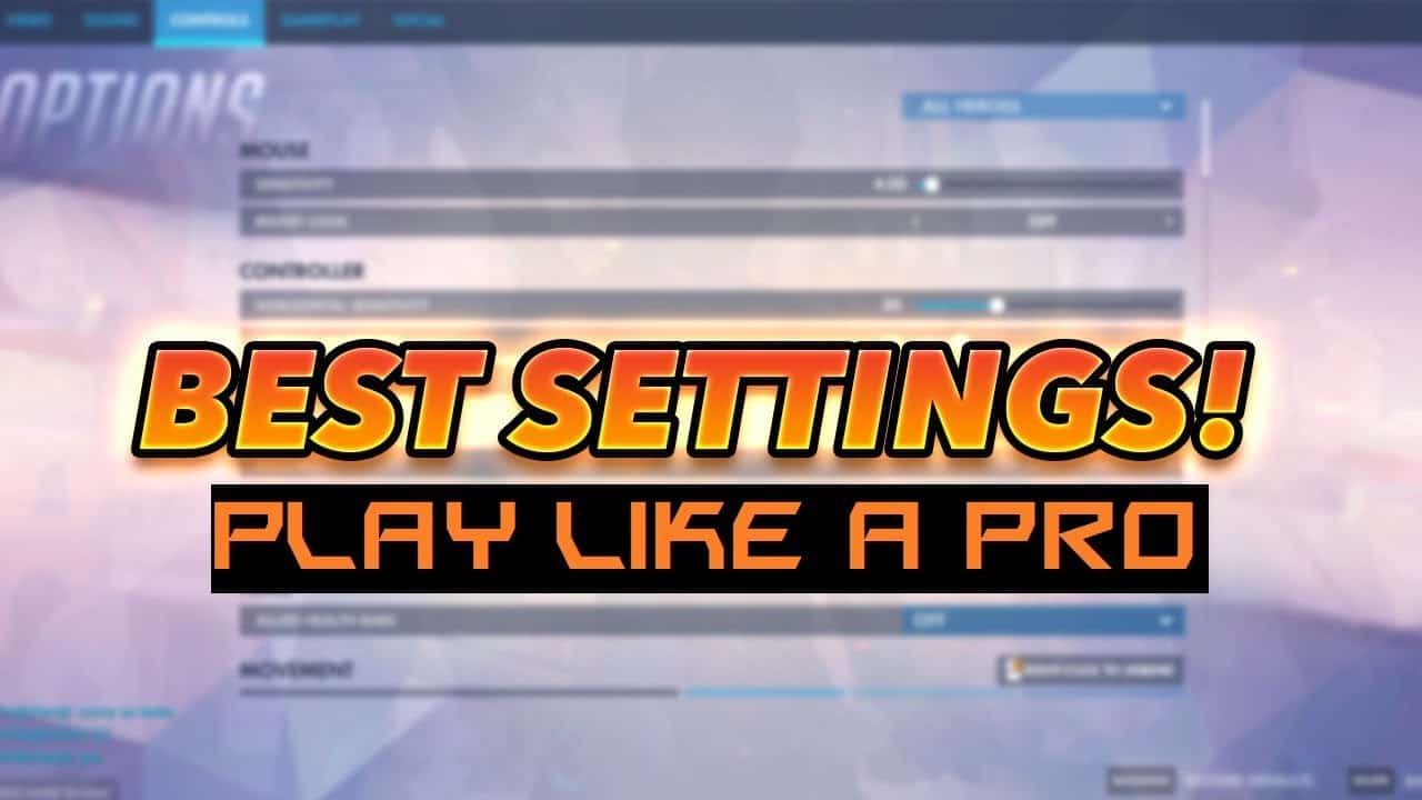 Best Overwatch Pro Settings