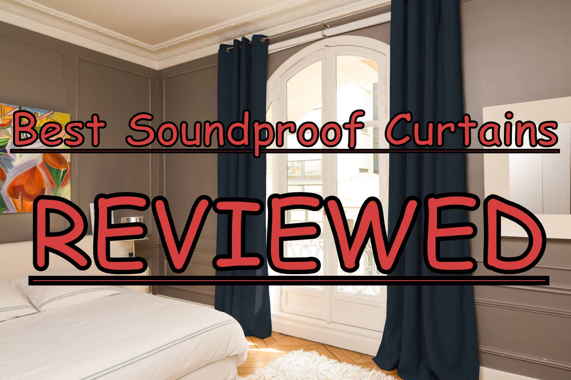 product image - Best Soundproof Curtains