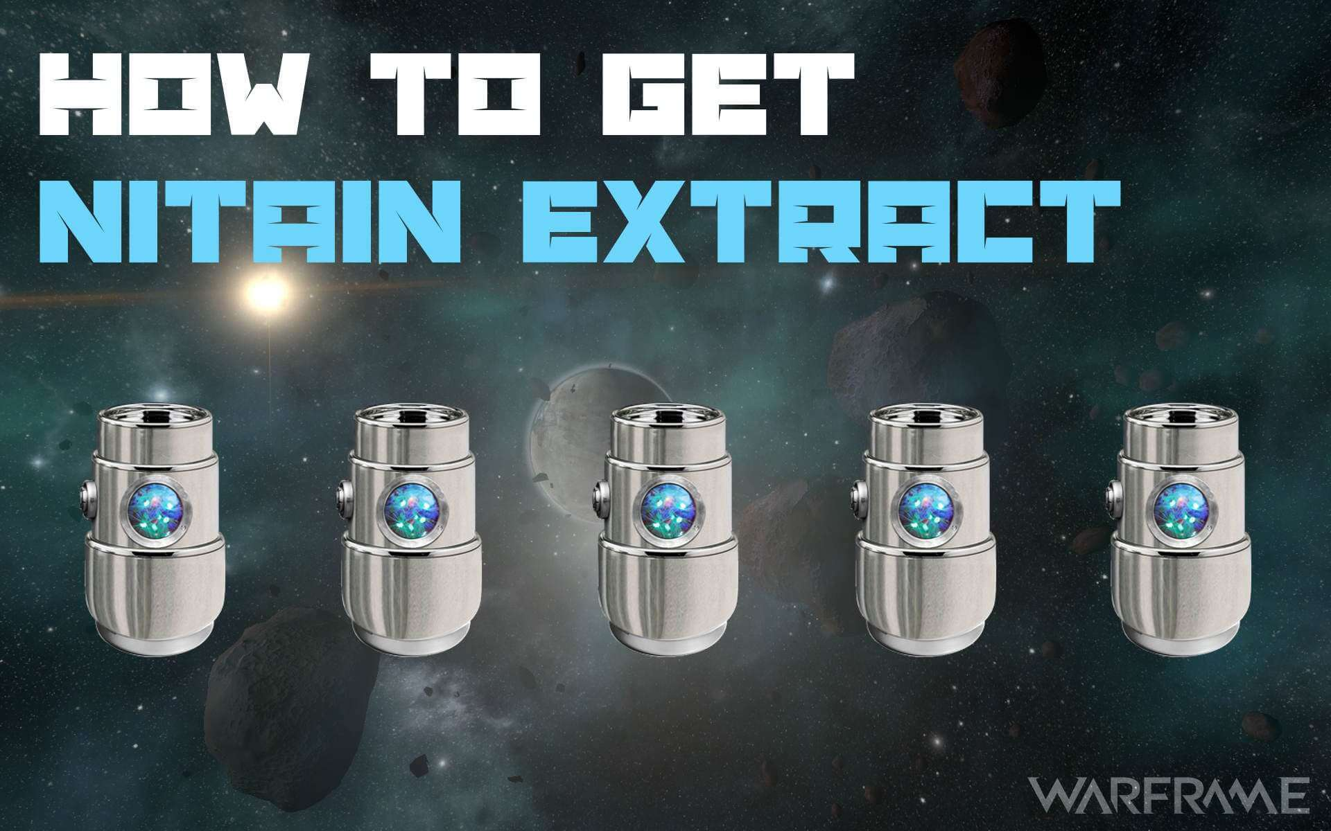 Warframe Nitain Extract