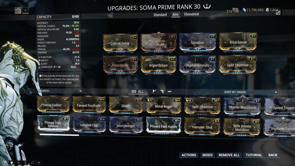 The Aim Build Soma Prime