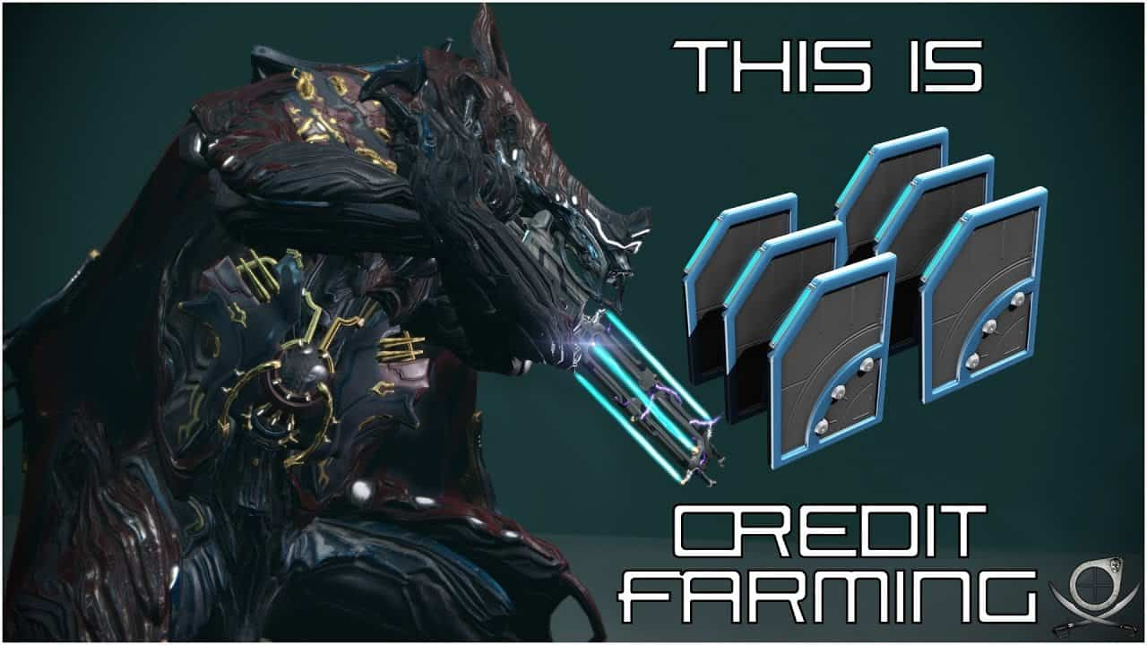 Warframe Credit Farming